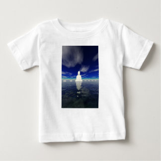 buddha white and steps baby T-Shirt