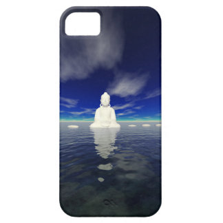buddha white and steps case for the iPhone 5