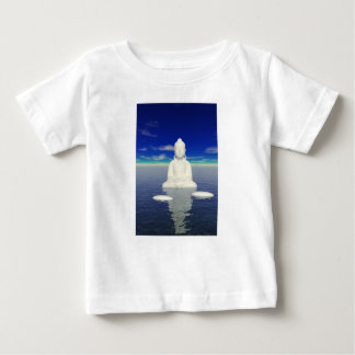 buddha white and two steps baby T-Shirt