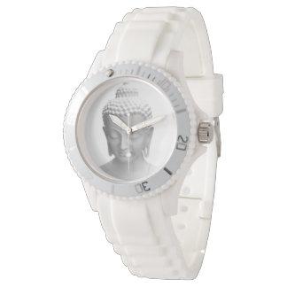 Buddha white watch