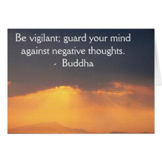 Buddha wisdom quote inspirational motivate card