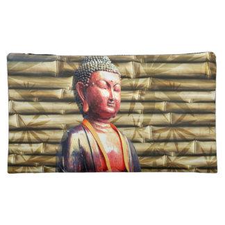 Buddha with Bamboo Cosmetic Bag