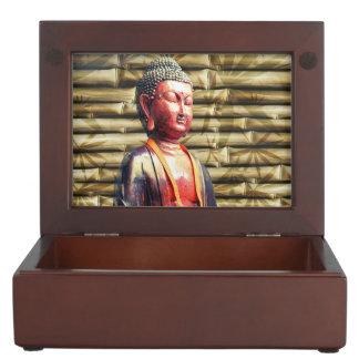 Buddha with Bamboo Keepsake Box