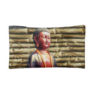 Buddha with Bamboo Makeup Bags