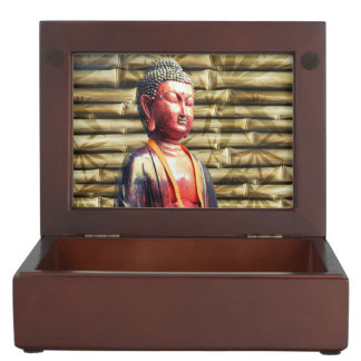 Buddha with Bamboo Memory Box