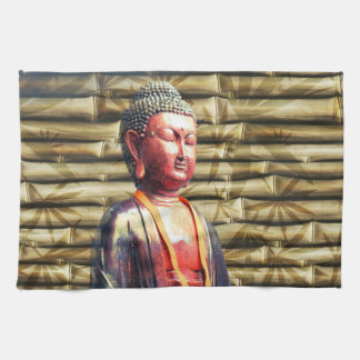 Buddha with Bamboo Towel