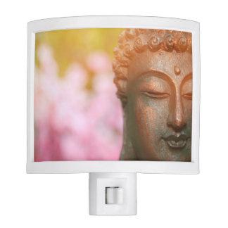 Buddha With Cherry Blossoms Night Light