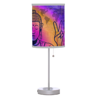 Buddha World Peace Table Lamp