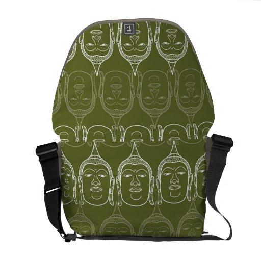 Buddha Zen Modern Pattern Graphic Vector Art Bag Courier Bags