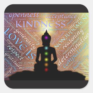 Buddha Zen Spiritual Enlightenment Love Sticker