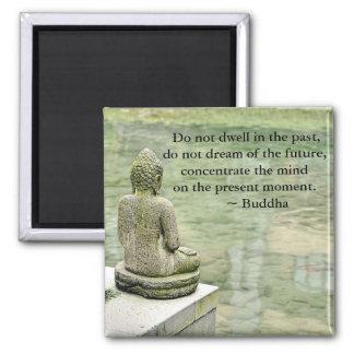 Buddha Zen Spiritual Inspirational Enlightenment Magnet