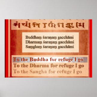 Buddham Saranam Gacchami Print