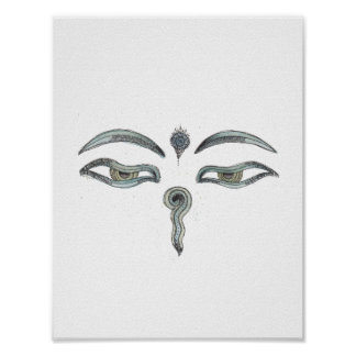 Buddha's Eyes Print