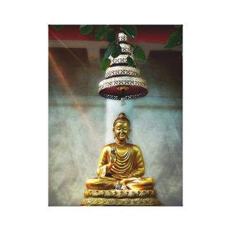Buddha's Shining Light Canvas Print
