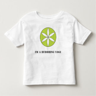 Buddhing Yogi Toddler Tee