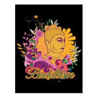 Buddhism Color Postcard