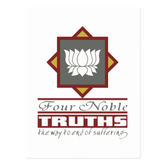 Buddhism Four Noble Truths Postcards