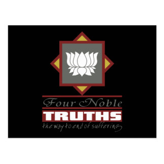 Buddhism Four Noble Truths Post Card