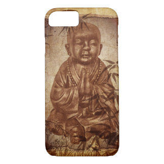Buddhism Monk - Bamboo Design iPhone 7 Case