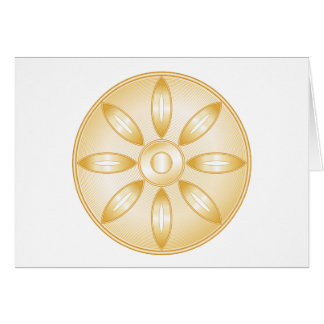 Buddhism Symbol Card