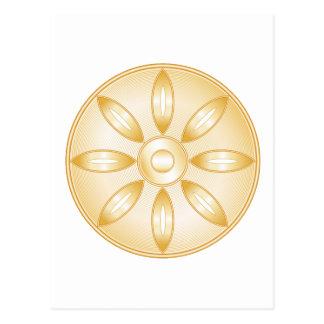 Buddhism Symbol Postcard