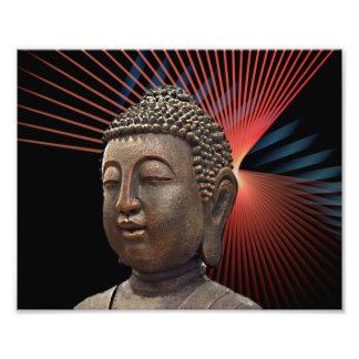 Buddhism Symbol Style Photo Print