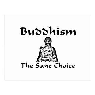 Buddhism The Sane Choice Postcard