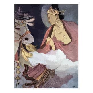 Buddhist Art Postcard