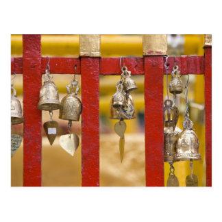 Buddhist Bells at Doi Suthep Temple Postcard