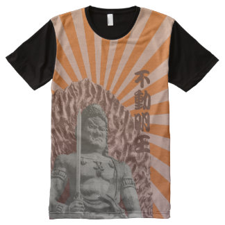 Buddhist Deity Fudo Myo-o All-Over-Print T-Shirt