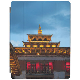 Buddhist Dzong Roof iPad Cover
