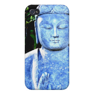 Buddhist iphone 4 case Blue Medicine Buddha