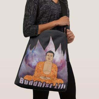 Buddhist Life Buddha Crossbody Bag