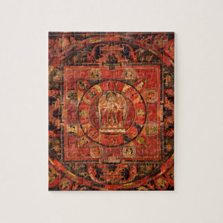 Buddhist Mandala of Compassion Jigsaw Puzzle