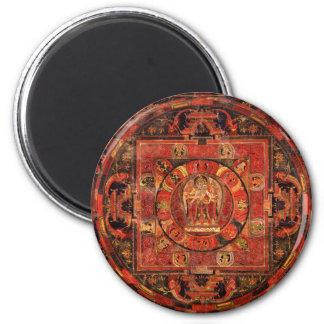 Buddhist Mandala of Compassion Magnet
