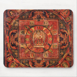 Buddhist Mandala of Compassion Mouse Pad