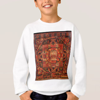 Buddhist Mandala of Compassion Sweatshirt