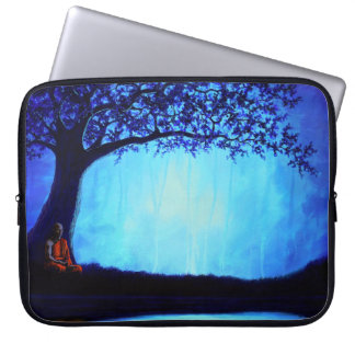 Buddhist Meditation Laptop Sleeve