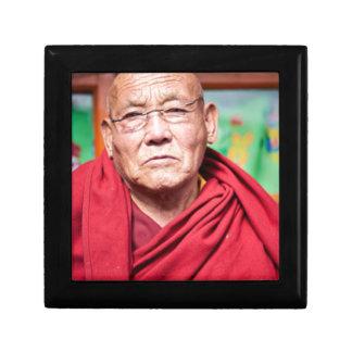 Buddhist Monk in Red Robe Gift Box
