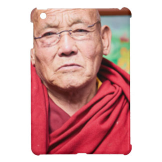 Buddhist Monk in Red Robe iPad Mini Cases