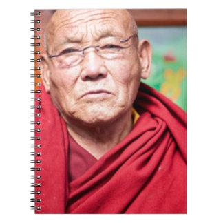 Buddhist Monk in Red Robe Notebooks