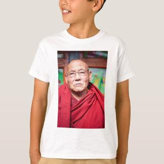 Buddhist Monk in Red Robe T-Shirt