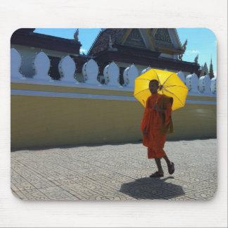 Buddhist monk mouse mat