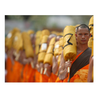 Buddhist Monk Postcard