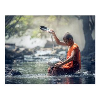 Buddhist Monk Washing Implements Postcard