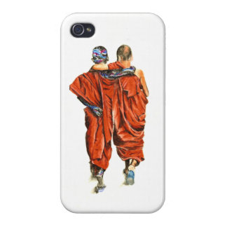 Buddhist monks cases for iPhone 4