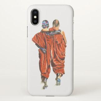 Buddhist monks iPhone x case