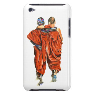 Buddhist monks iPod touch Case-Mate case