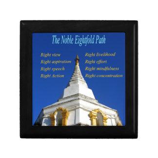 Buddhist Noble Eightfold Path Keepsake Box