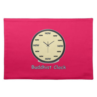 Buddhist Now Clock Placemat